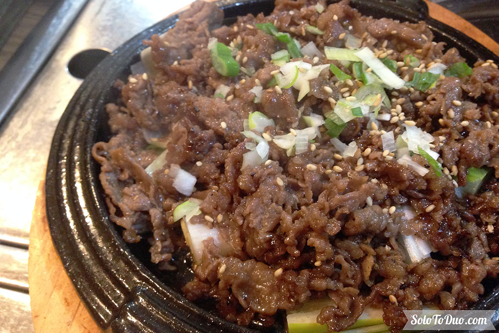 Makanan Wajib Coba di Seoul - Bulgogi
